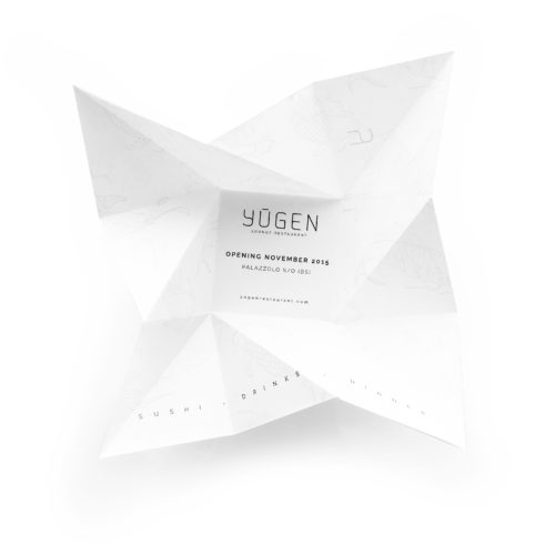 Origami invitations Yugen